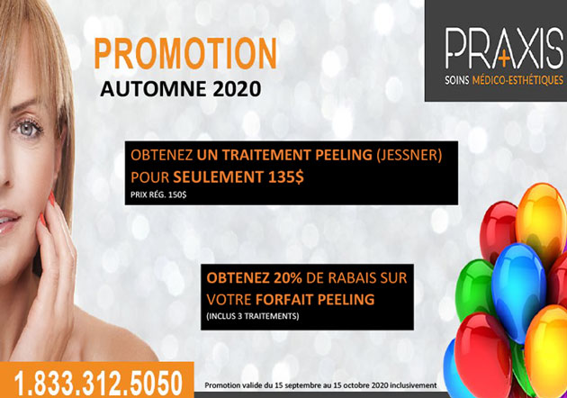 Promo peeling