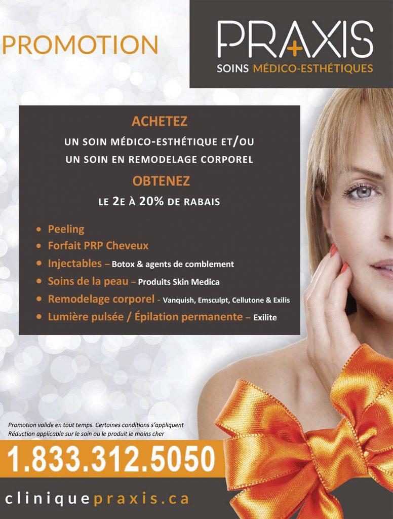 Promotion Rabais Médico-Esthétique