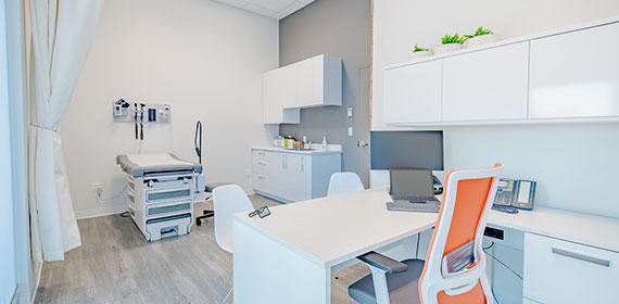 Salle d'examen médical